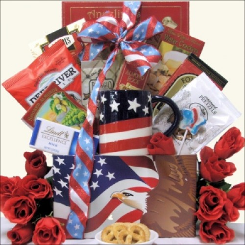 Enduring Freedom: Patriotic Gift Basket
