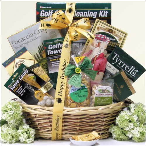 Par For The Course: Birthday Golf Gift Basket
