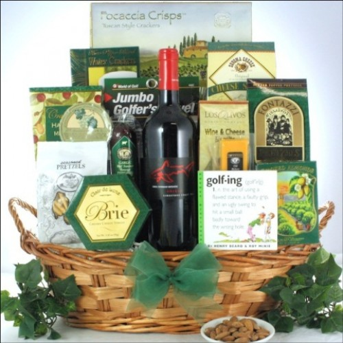 Greg Norman Estates Shiraz: Father's Day Wine & Golf Gift Basket
