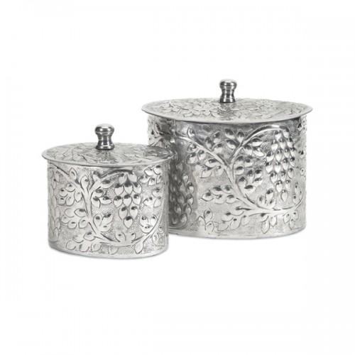 Burgess Aluminum Boxes - Set of 2