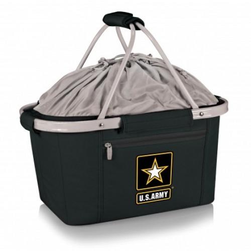 Metro Basket - Black (U.S. Army) Digital Print