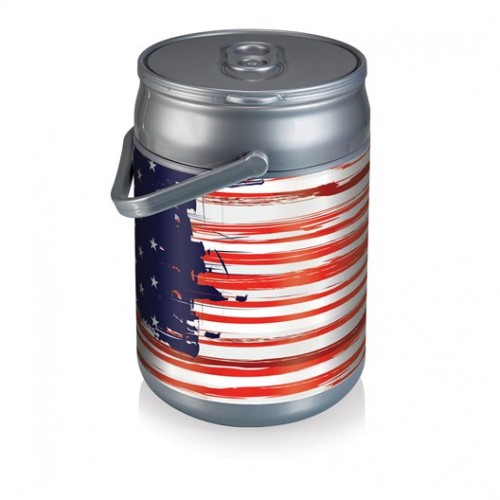 Stars and Stripes Can Cooler